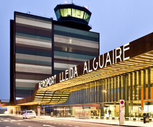 Lleida Airport or Alguaire airport