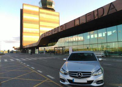 Taxi aeroport Lleida Alguaire