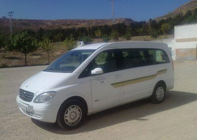 Taxi Lleida, Taxi monovolumen, taxi alguaire